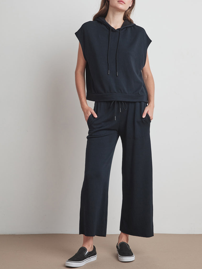 KINLEY FLEECE PANT - VELVET