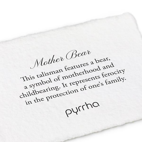 MOTHER BEAR NECKLACE - PYRRHA