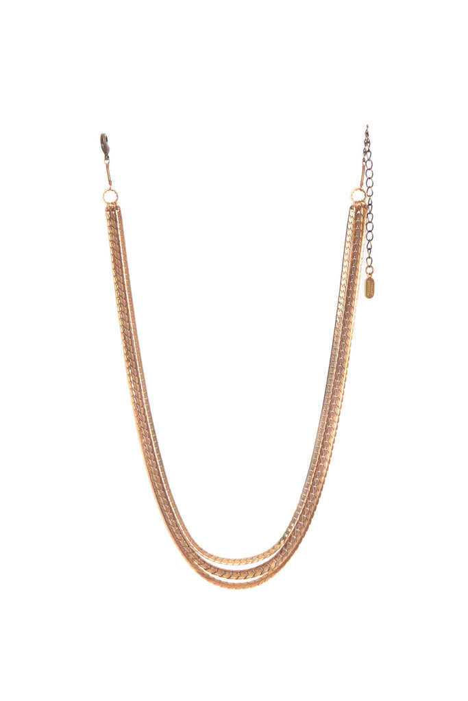 LARGE MIXED CHAIN NECKLACE - HAILEY GERRITS