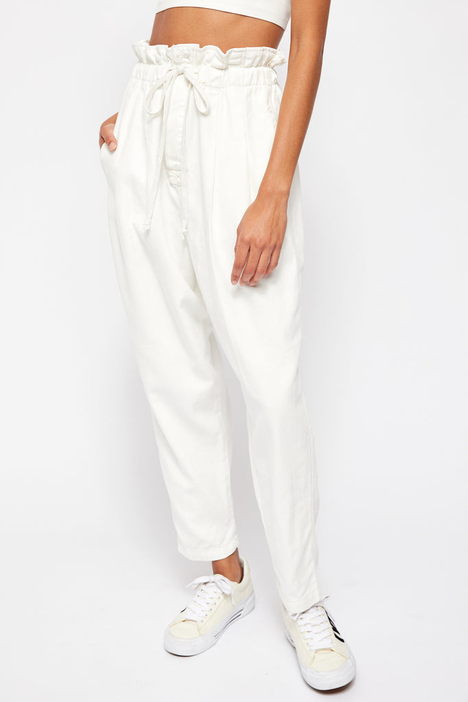 MARGATE PLEATED TROUSER - FREE PEOPLE