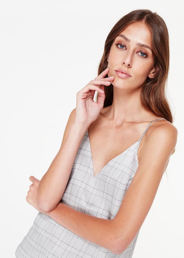 OLIVIA PLAID CAMI - CAMI NYC