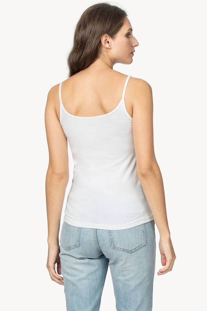 COTTON CAMI (WHITE) - LILLA P