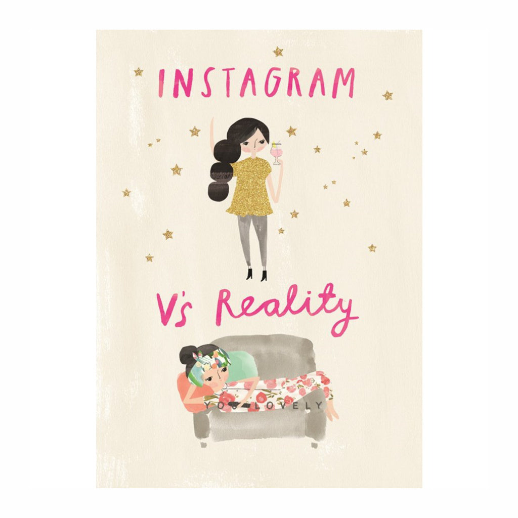 INSTAGRAM VS. REALITY - PAPER E. CLIPS
