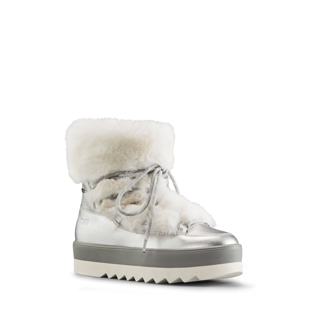 VANITY LEATHER WINTER BOOT (SILVER) - COUGAR