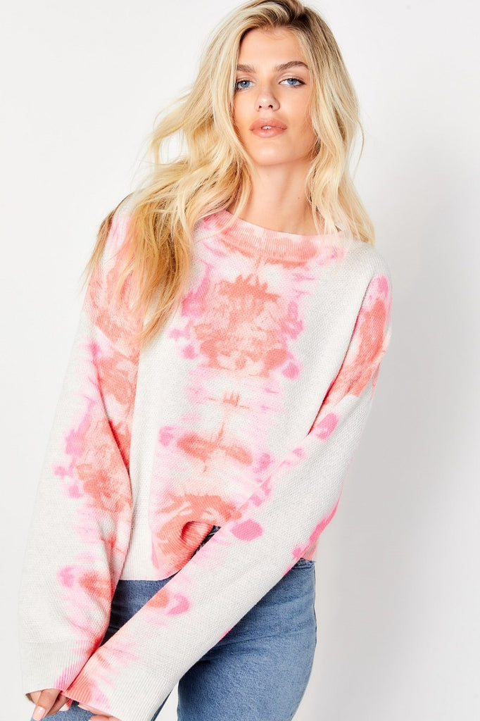 DREAM ON SWEATER (PINK PUNCH) - LISA TODD