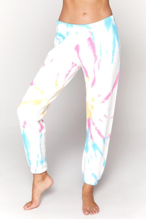 PERFECT TERRY SWEATPANT (SUNBURST TIE DYE) - SPIRITUAL GANGSTER