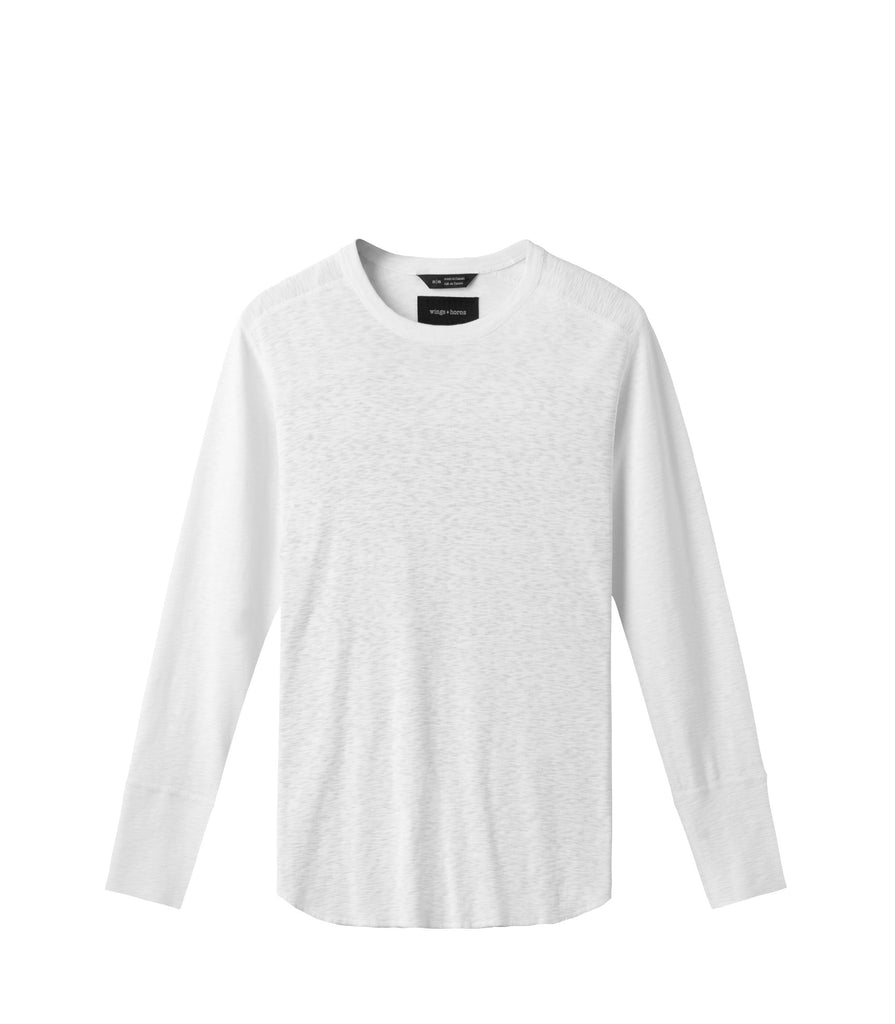 LONG SLEEVE CREW NECK - WINGS+HORNS