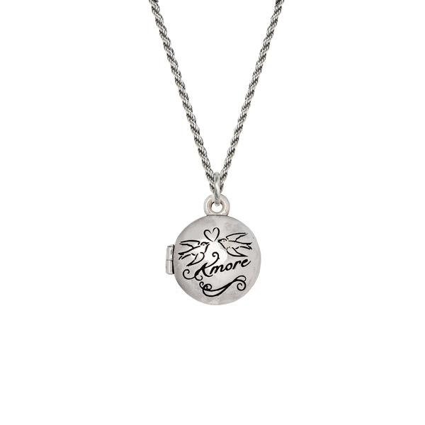 LOVE 'AMORE' LOCKET - PYRRHA