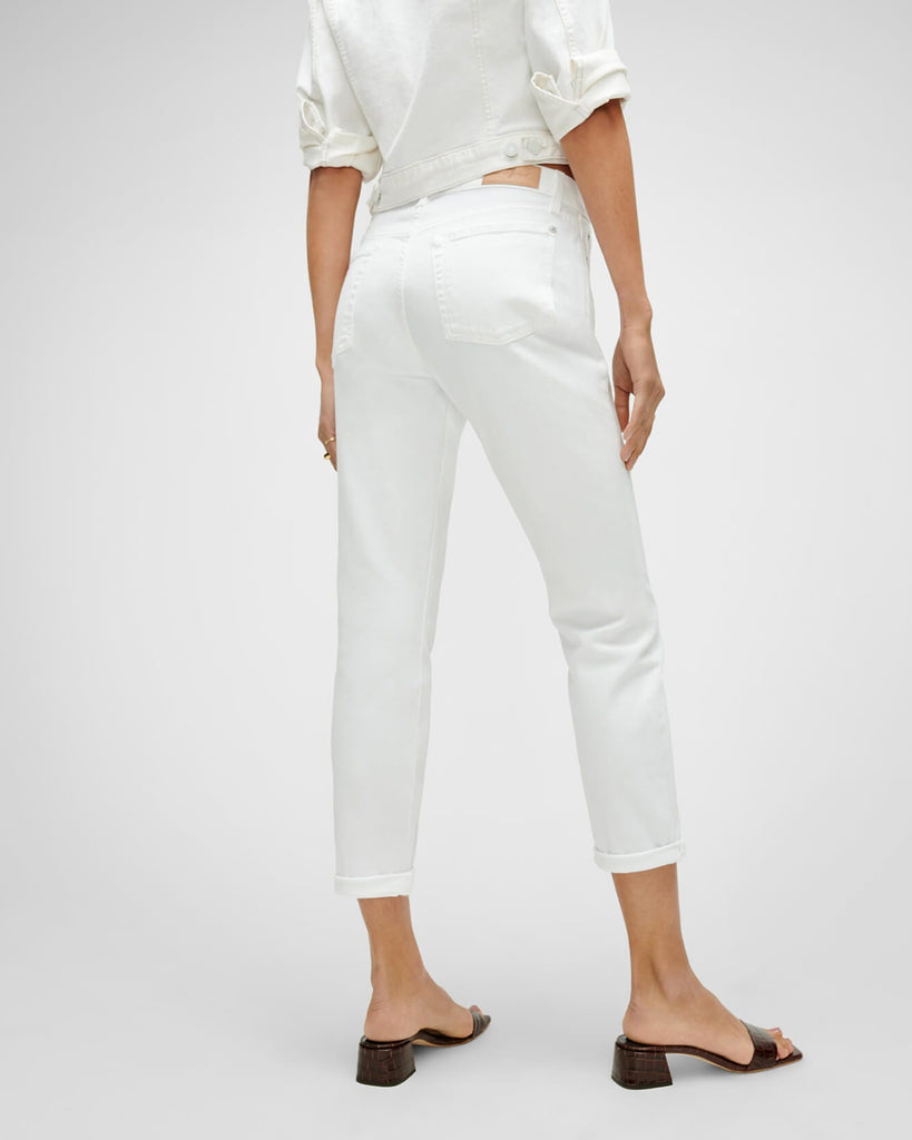 JOSEFINA GIRLFRIEND JEAN (WHITE) - 7 FOR ALL MANKIND