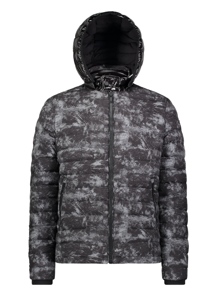 BLACK ROCK JACKET NEBULA - MOOSE KNUCKLES