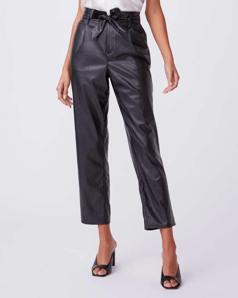 MELILA VEGAN LEATHER PANT - PAIGE