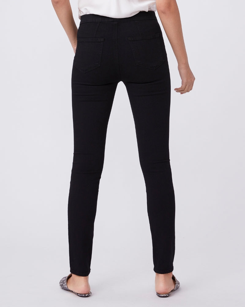 HOXTON PULL ON ULTRA SKINNY (BLACK SHADOW) - PAIGE