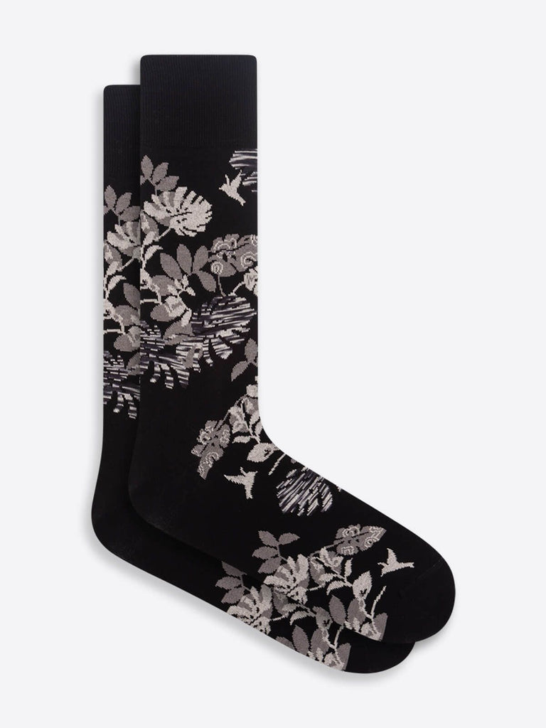 DRESS SOCKS TROPICAL PRINT - BUGATCHI