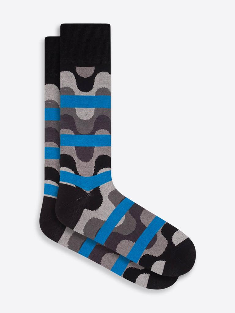DRESS SOCKS WAVEY STRIPE - BUGATCHI