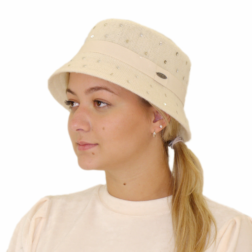 BLOOM BUCKET HAT (CREAM) - CANADIAN HAT