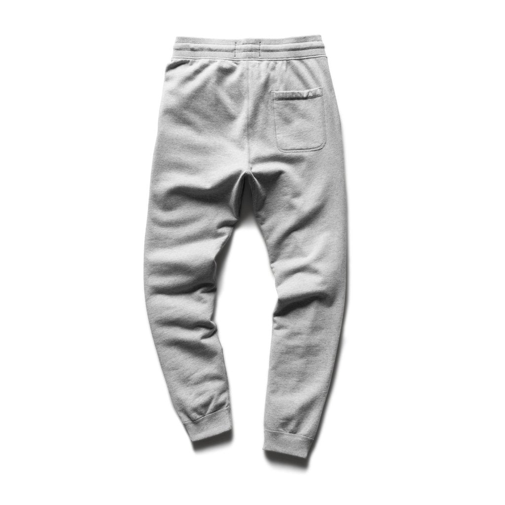 MIDWEIGHT SLIM FIT TERRY SWEAT PANT (GREY) - REIGNING CHAMP