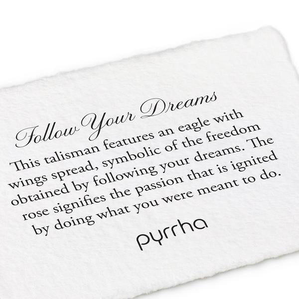 FOLLOW YOUR DREAMS RING -  PYRRAH