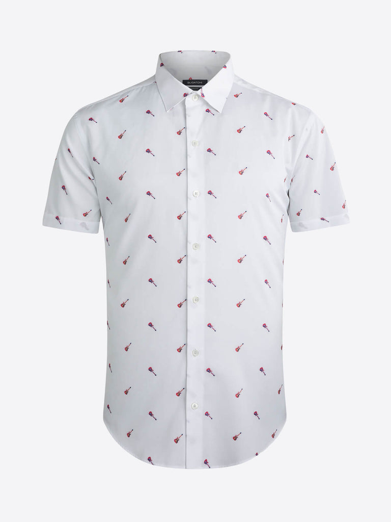 SHORT SLEEVE SHIRT - BUGATCHI