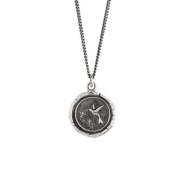 HUMMINGBIRD NECKLACE - PYRRHA