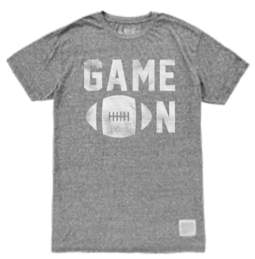 """GAME ON T-SHIRT"" - RETRO BRAND"