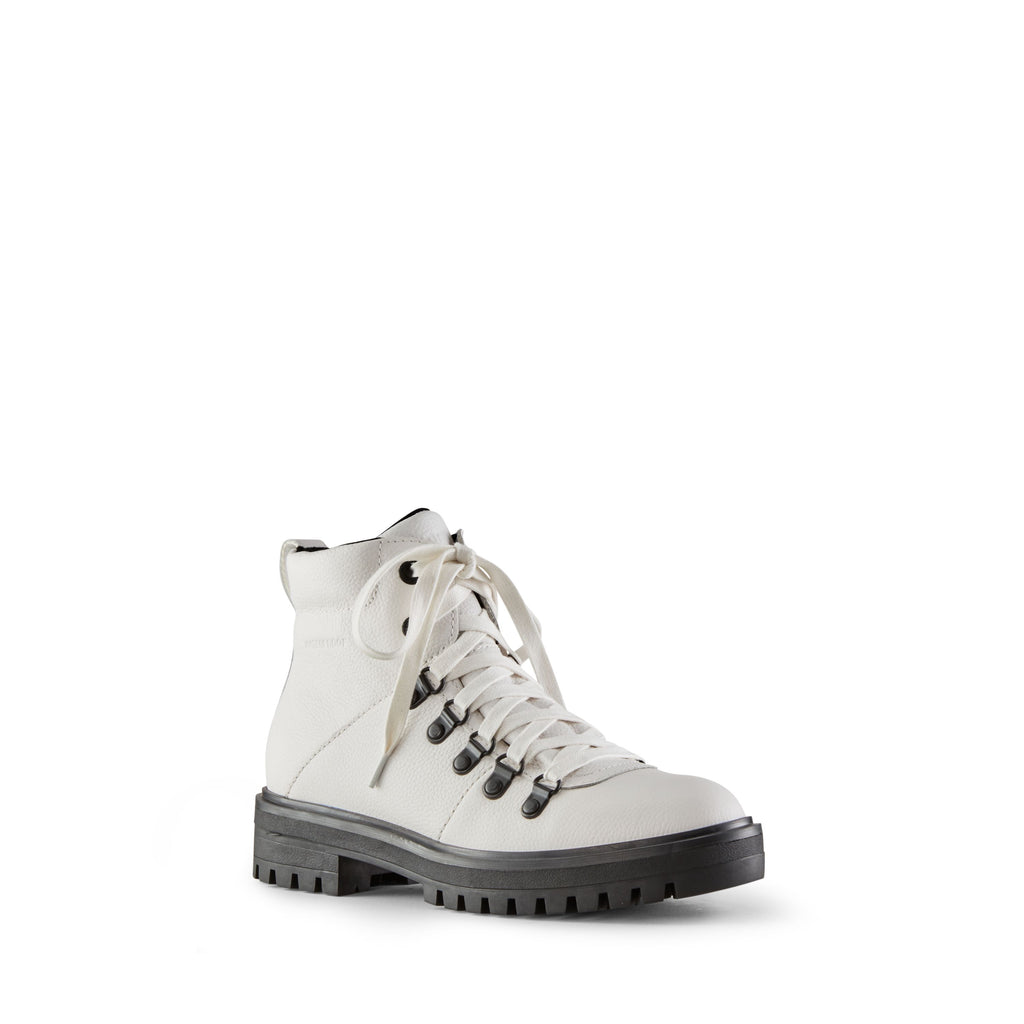 NASH LOW LACE ANKLE BOOT (WHITE) - COUGAR