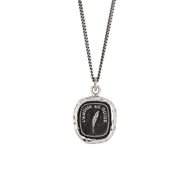 LOVE GUIDES ME NECKLACE - PYRRAH