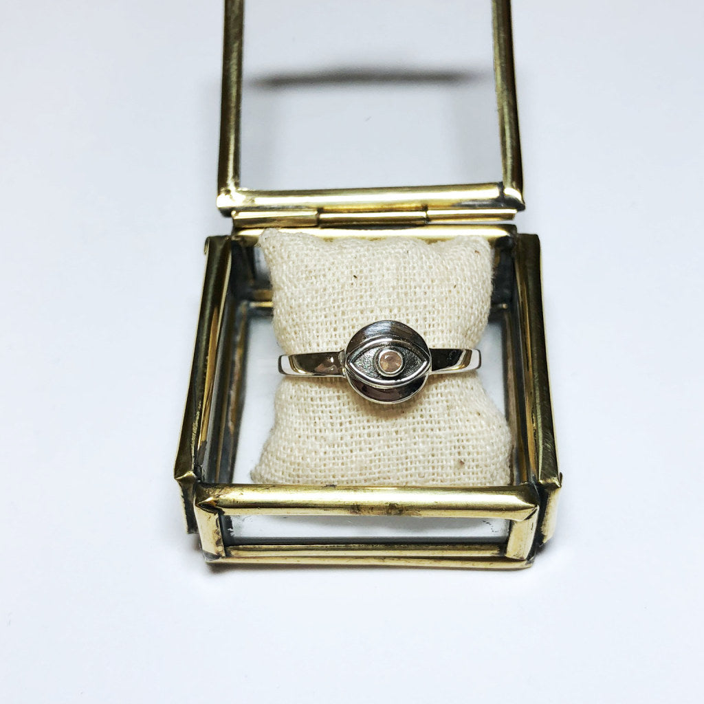 COIN EYE RING - MUJA JUMA