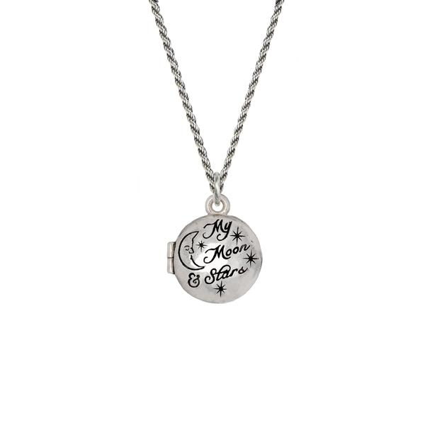 MY MOON & STARS LOCKET - PYRRAH