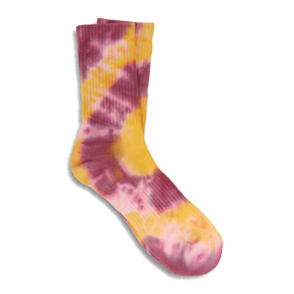 MEN'S TIE DYE SOCKS (YELLOW) - N/A