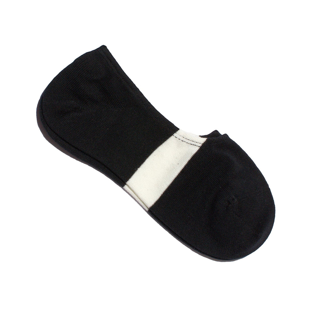 MEN'S NO SHOW SOCKS (BLACK) - N/A