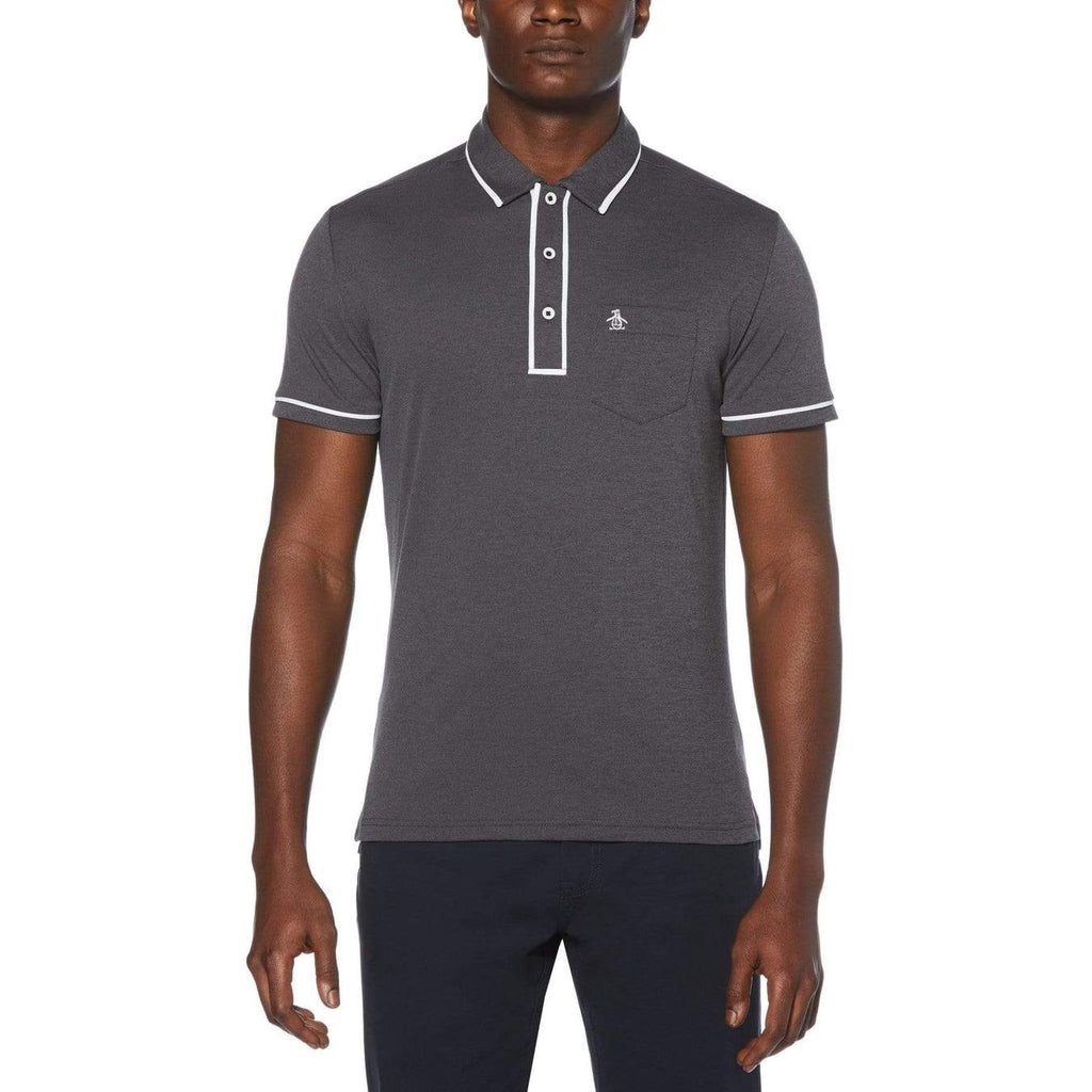 OXFORD GOLF T-SHIRT - ORIGINAL PENGUIN