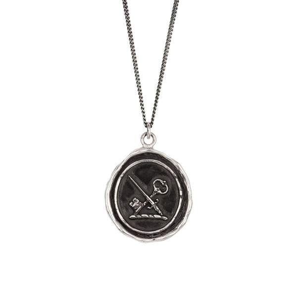 OVERCOMING FEAR NECKLACE - PYRRHA