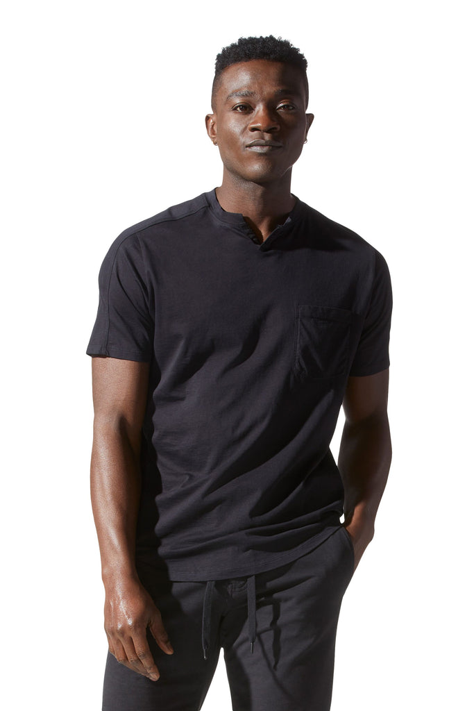 NOTCH NECK T-SHIRT - GOODMAN