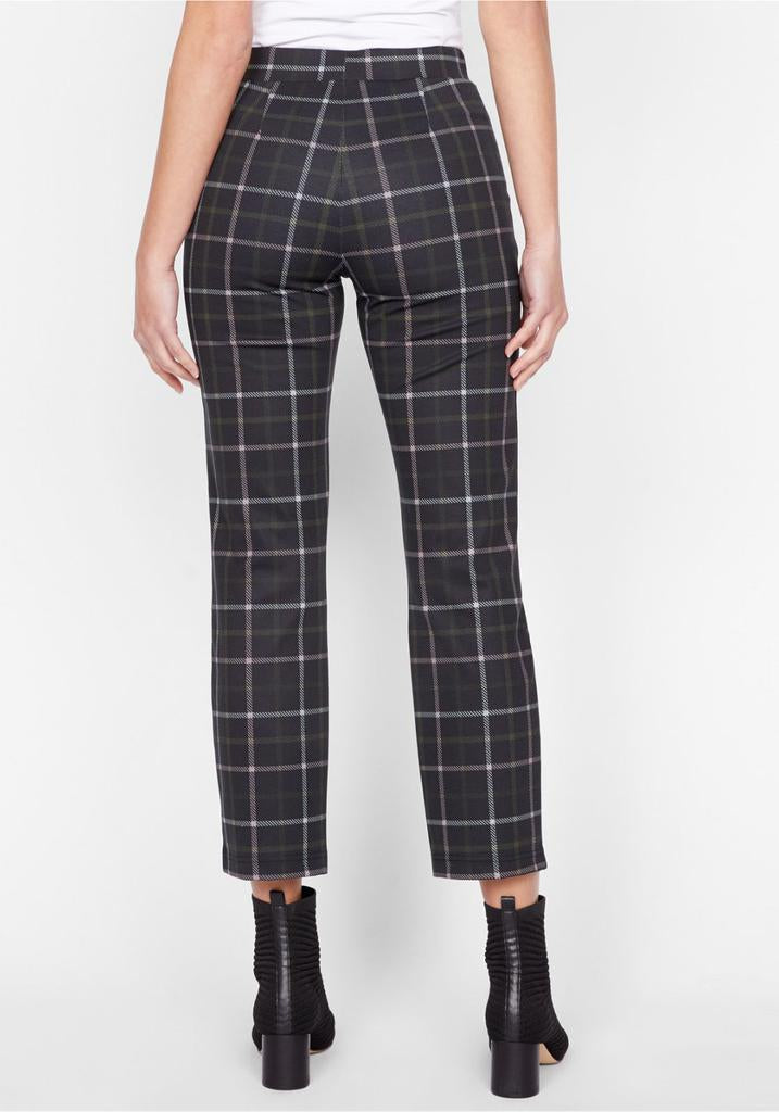 CARNABY PLAID KICK CROP LEGGING - SANCTUARY