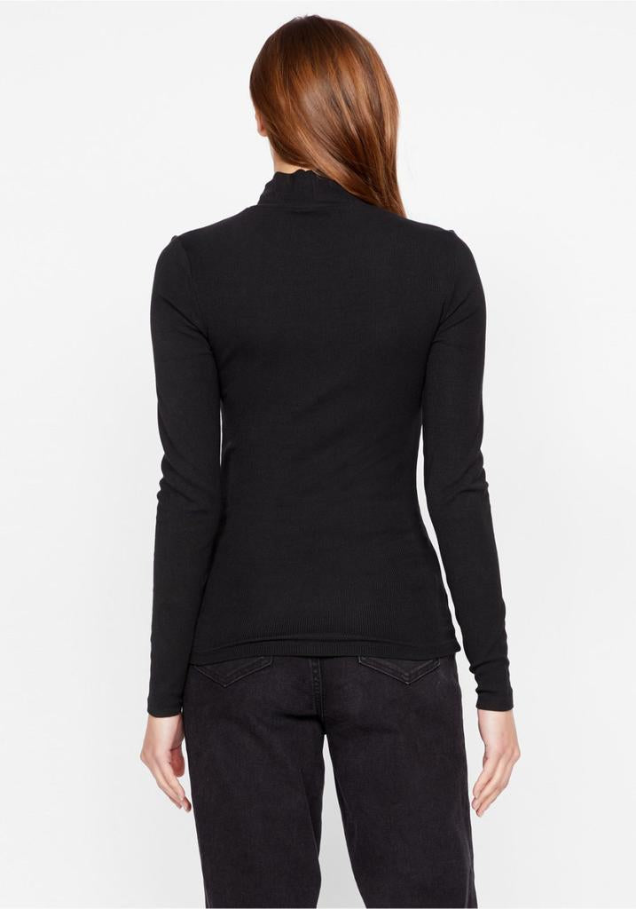 ESSENTIAL LONG SLEEVE MOCK NECK - SANCTUARY