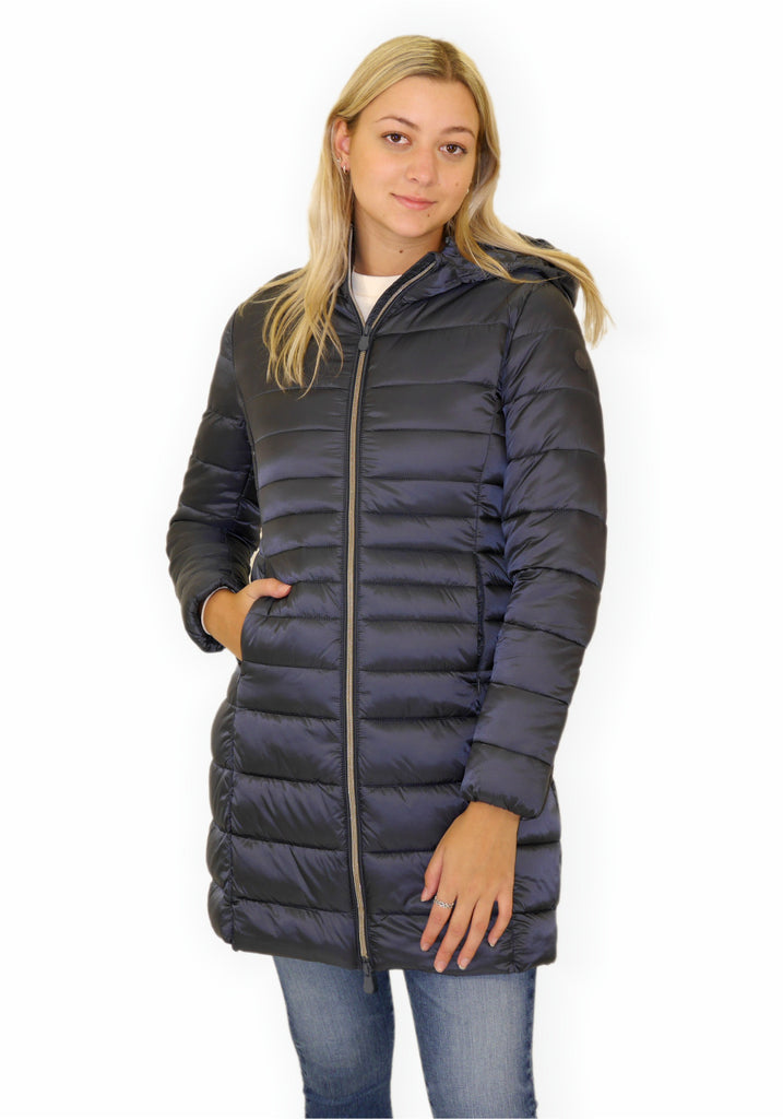 HOODED PUFFER JACKET - SAVE THE DUCK