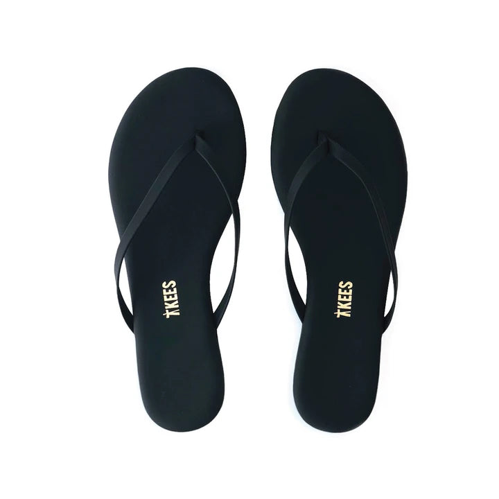 LILY FOUNDATION SANDAL (BLACK) - TKEES