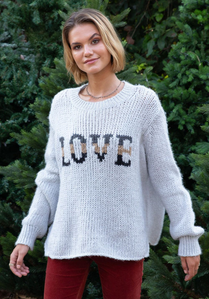 GYPSY LOVE CHUNKY KNIT SWEATER - WOODEN SHIPS