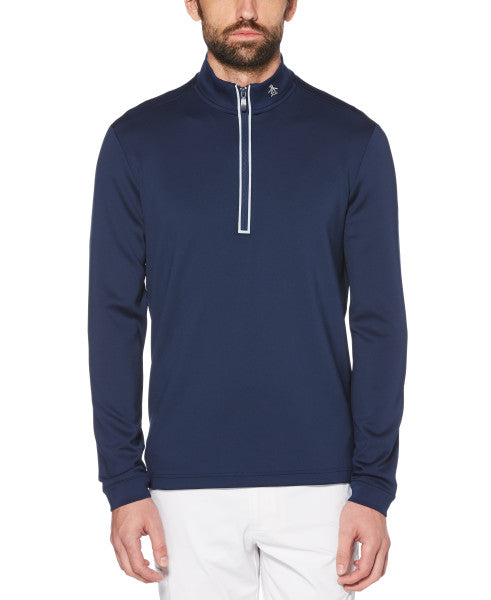 QUARTER ZIP GOLF PULLOVER - ORIGINAL PENGUIN