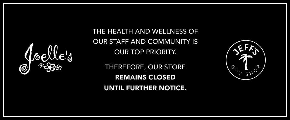 Closed until further notice due to COVID19