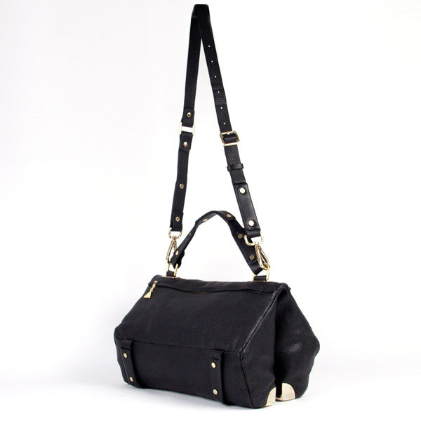 Black Lavato Duo Satchel - Medium