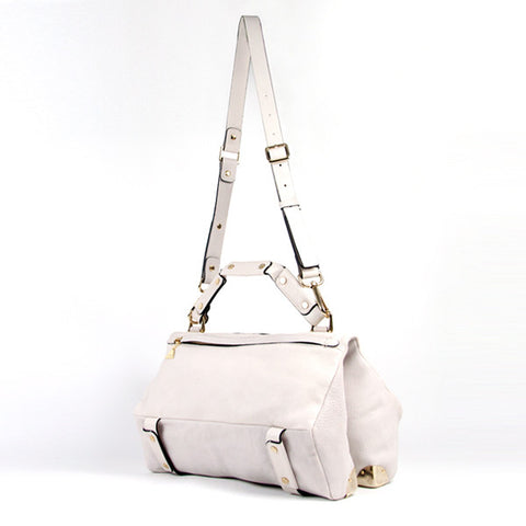 Cream Lavato Duo Satchel - Medium