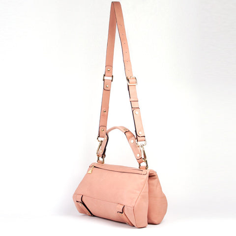 Pink Soave Duo Satchel - Small