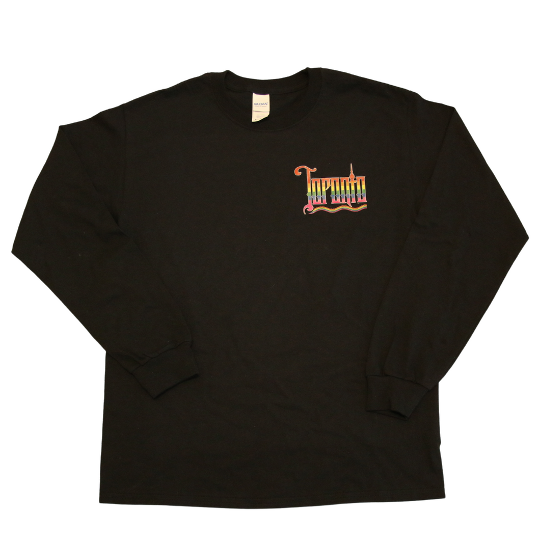 Toronto long sleeve shirt rainbow logo
