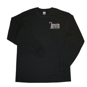 Toronto long sleeve shirt silver logo