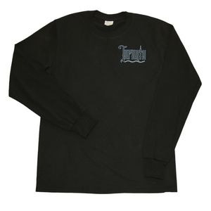 Toronto long sleeve shirt blue logo