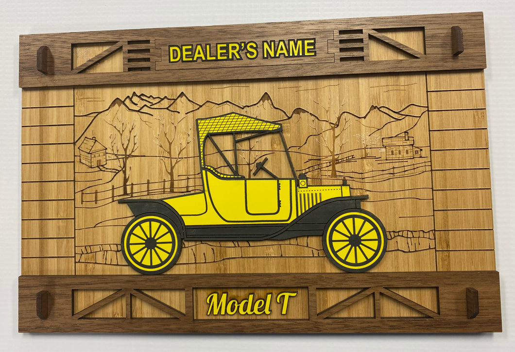 Ford Model T Wall Decor