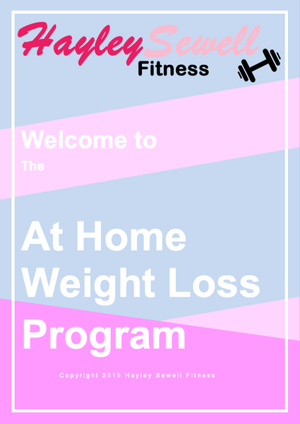 At Home Weight Loss Program