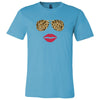 Leopard Sunglasses & Red Lips Tee