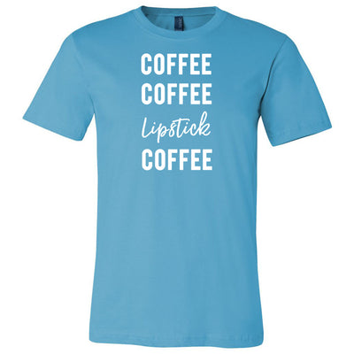 Coffee Coffee Lipstick Coffee Tee